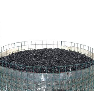 Galets de basalte galets d coratifs silaco natural for Galets plats decoratifs